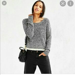Kimchi Blue by UO Knit Cropped sweater